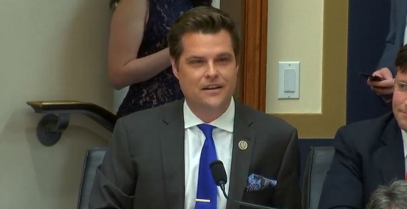 Florida Bar Moves Forward With Matt Gaetz Investigation for Intimidating Michael Cohen Before Hearing