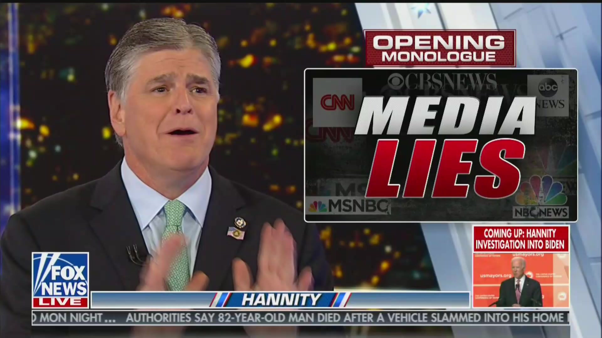 Hannity: Fox News 'Talk Show Hosts' Are Better Journalists Than '99%' of the Media