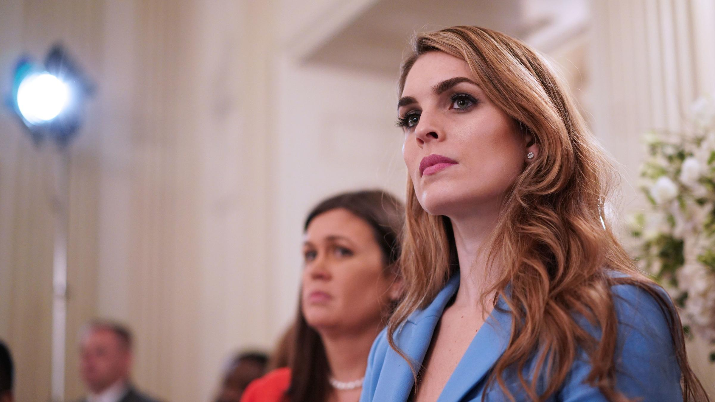 Will Hope Hicks Defy A Congressional Subpoena?