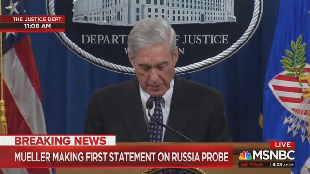 Robert Mueller: If I Was Confident Trump Didn't Commit Crimes, I Would Have Said So