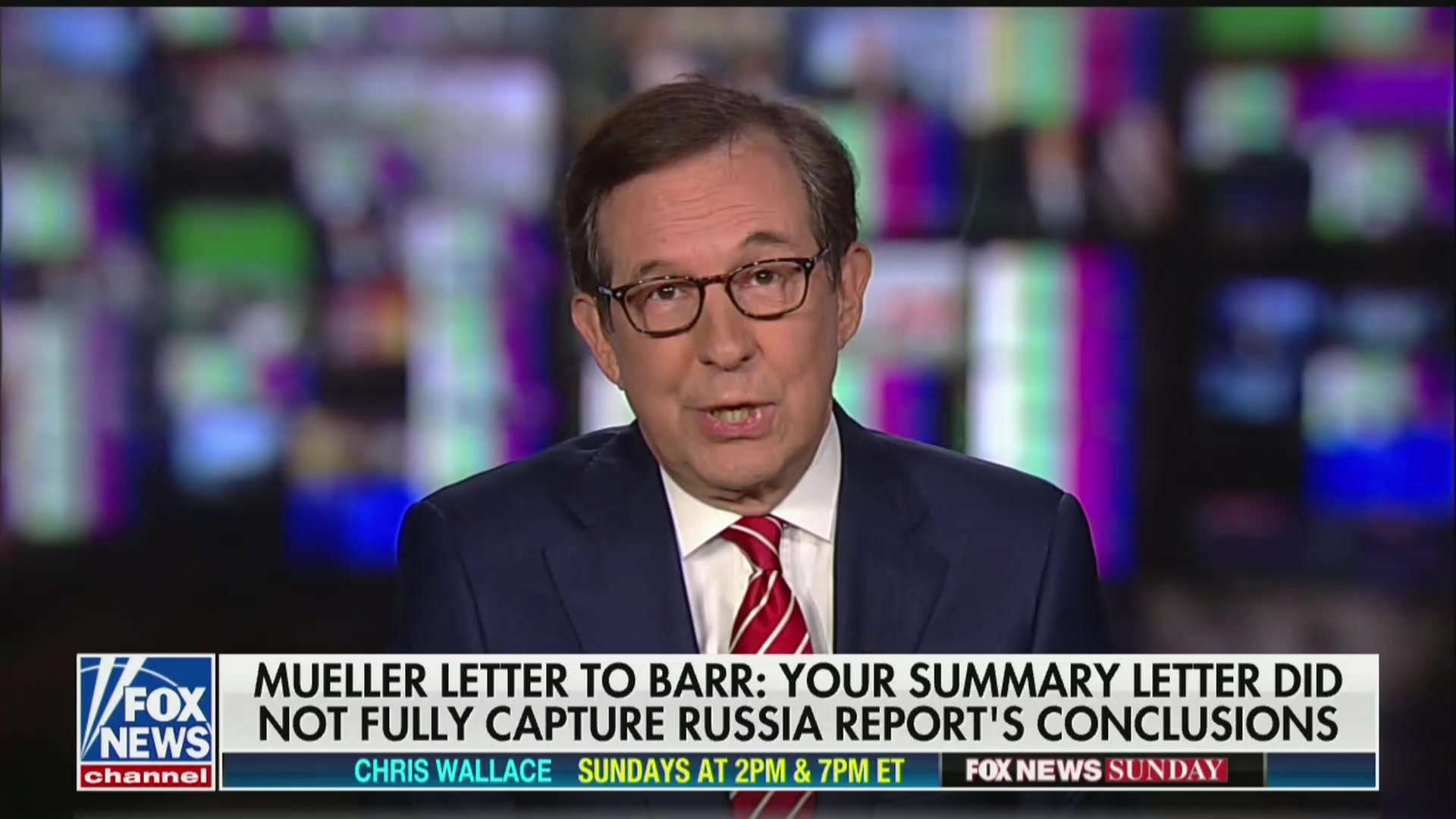 Chris Wallace Fires Back at Fox's 'Opinion People' Who Are 'Pushing a Political Agenda' on Mueller