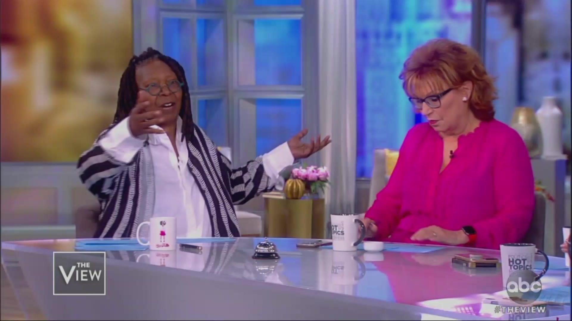 The View's Whoopi Goldberg, Joy Behar Bleeped Out While Blasting Trump