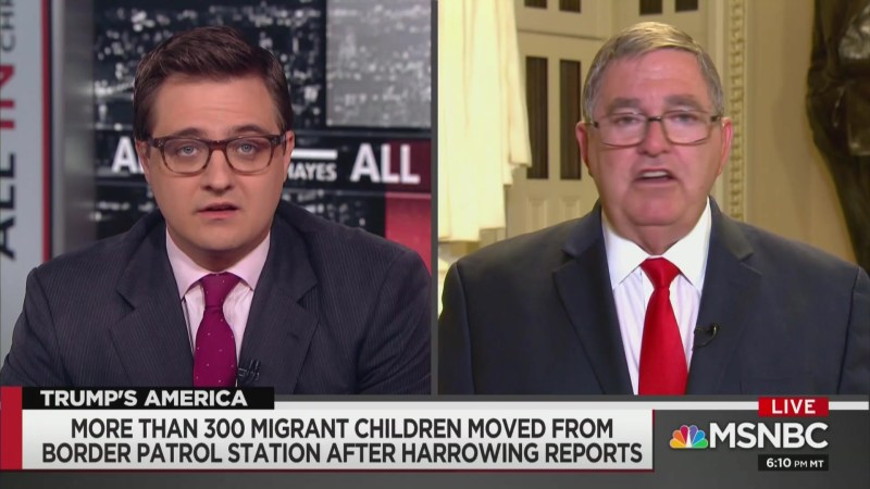GOP Rep: Trump Hatred Might Be Behind Reports of Awful Conditions at Detention Centers
