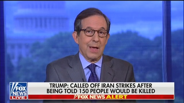 Fox News' Chris Wallace: 'Does the President Have the Stomach' to Strike Iran?