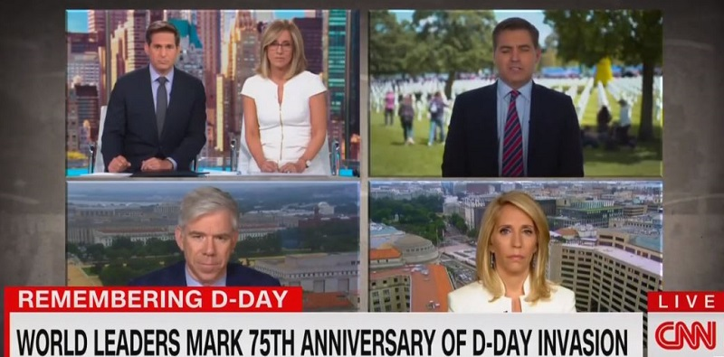 CNN Anchor Blasts Trump's D-Day Interview With Laura Ingraham: She 'Defended an Antisemite'
