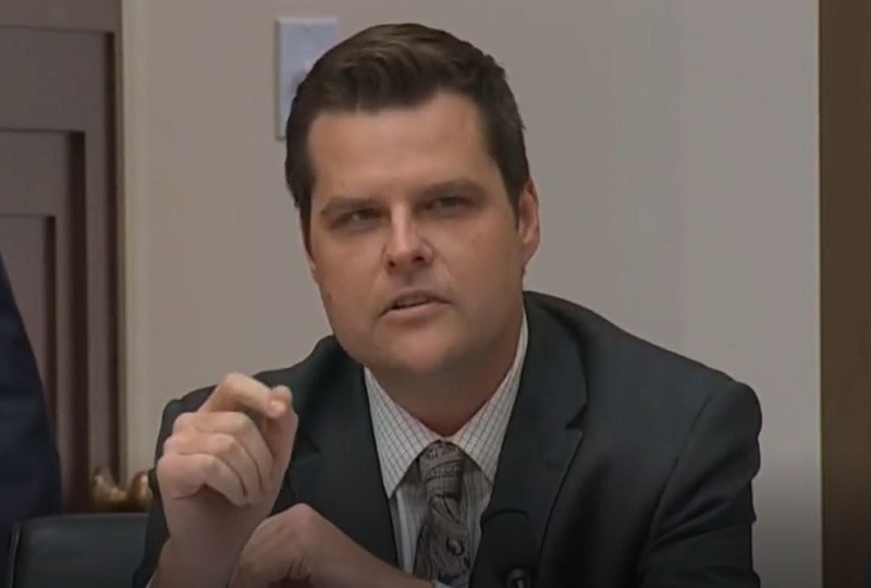 GOP Rep. Matt Gaetz Reminds Everyone That Even Republican Presidents Used to Have Healthcare Reform Plans