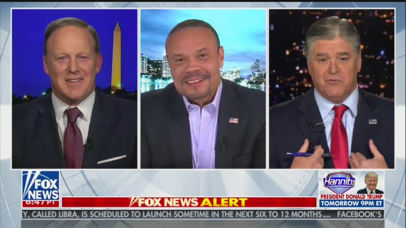Hannity Boasts About His 'Street-Fighting' Skills, Warns Bongino He Knows His 'Weakness'