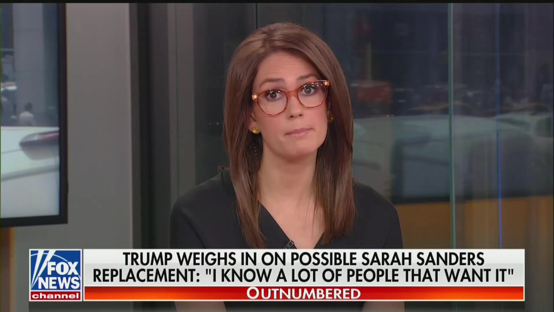 Fox Anchor Reacts to Co-Host Blasting Sarah Sanders as a Liar: 'Oh My Gosh, Get to the Commercial'
