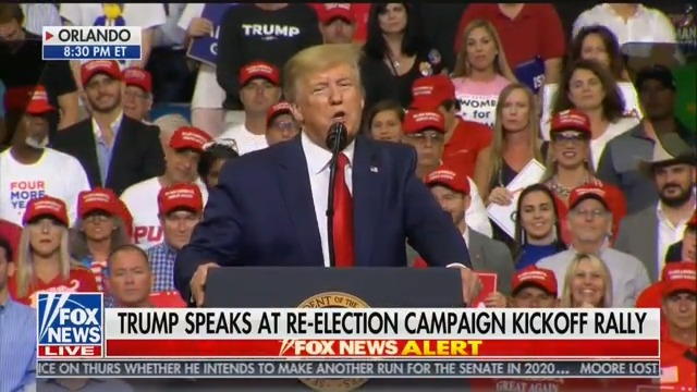 Trump Tells Orlando Rally Crowd That Democrats 'Want to Destroy You'