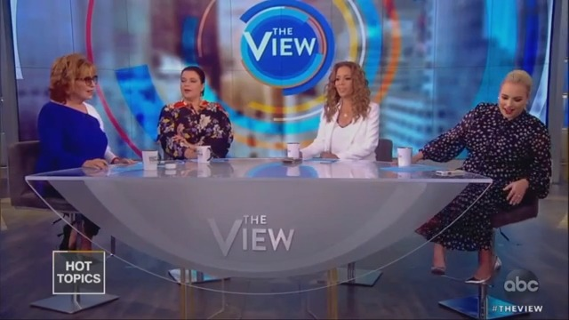 Joy Behar and Meghan McCain Agree Over Swalwell's 'Ageist Crap' Against Biden, Then Fight Once More