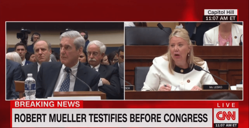 GOP Congresswoman To Mueller: You Just 'Regurgitated' Stories From WaPo and New York Times