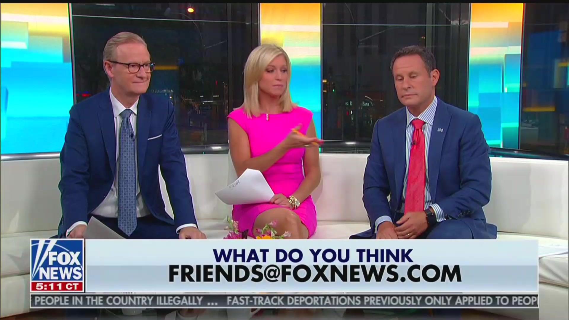 Fox News Host Ainsley Earhardt Thinks McDonald's Employees Make Tips