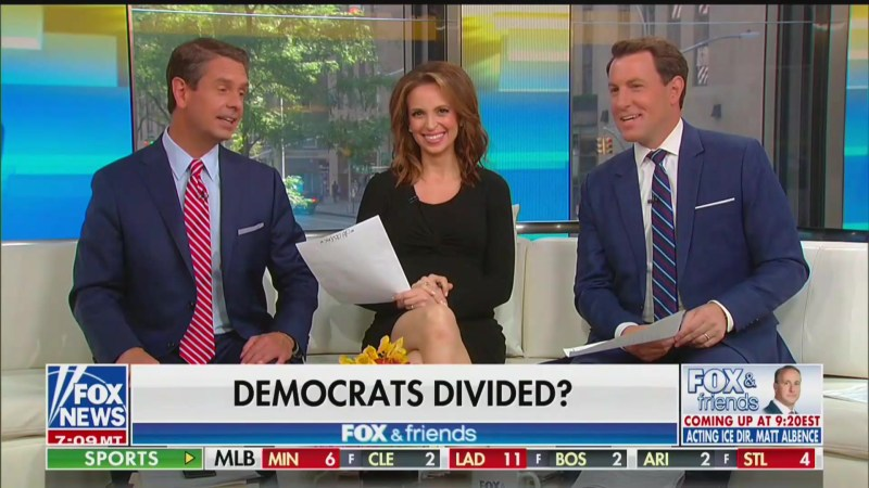 'Fox & Friends' Laughs at Trump's Racist Tweets Targeting Congresswomen of Color: 'Very Comedic'