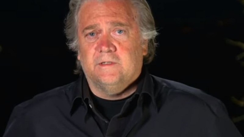 Steve Bannon Hopes to Grab Trump's Attention With Film About Huawei Controversy