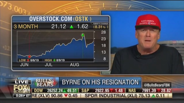 Overstock Ex-CEO Goes on Insane Rant to Fox Business: Peter Strzok Gave Me Deep State Orders!