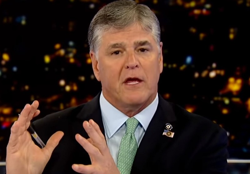 Hannity Claims He Was Just Joking Over Fears of 'Mid-Morning Raid' Due to Russia Coverage