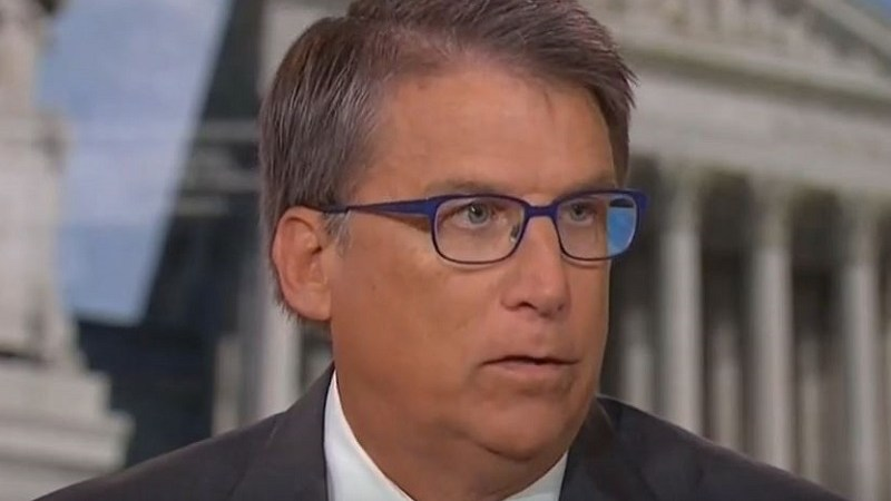 Republican Former Governor Pat McCrory's Answer to White Supremacist Violence: Complain About Antifa