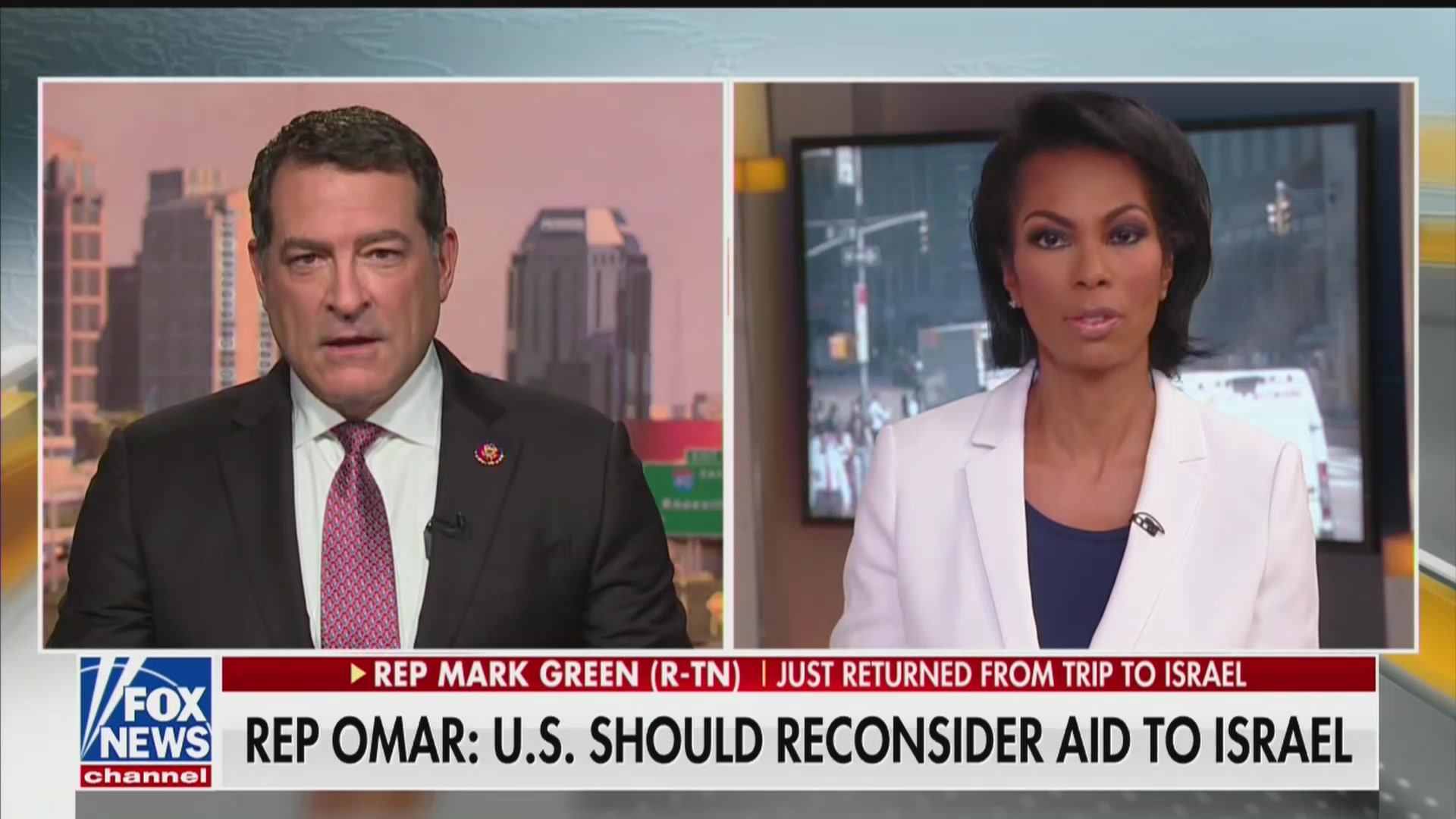 Fox Host Quickly Pivots After GOP Rep Says Tlaib 'Hates Jews More Than She Likes Her Grandmother'