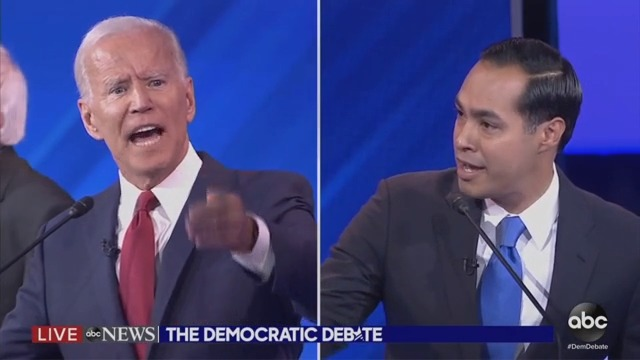 Julian Castro Goes There With Biden: 'Are You Forgetting What You Said Two Minutes Ago?!'