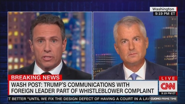 CNN's Phil Mudd Blows Gasket Over Whistleblower Complaint: Intel Community Shouldn't 'Snitch' on Trump