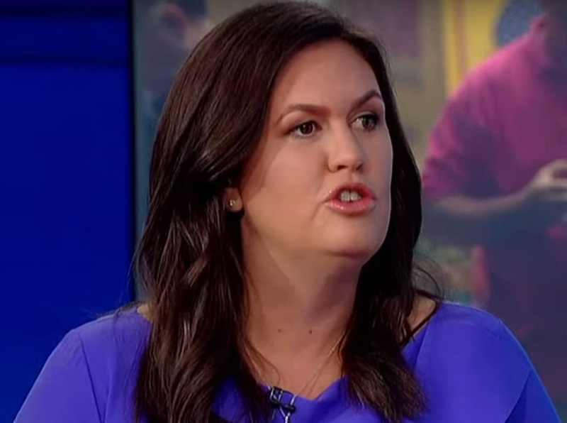 Sarah Huckabee Sanders' New Job on Fox Exactly the Same as Her Old Job in the White House
