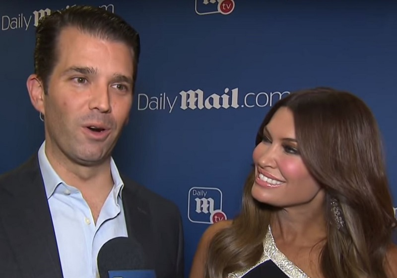 President Trump Is Reportedly Jealous of Don Jr.'s Romance with Former Fox News Host Kimberly Guilfoyle