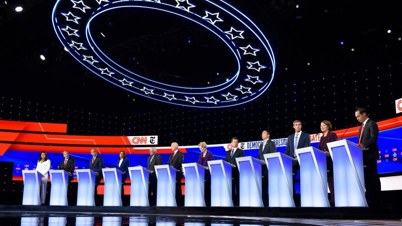 CNN Pulls In 8.3 Million Viewers for Tuesday Night's Democratic Primary Debate