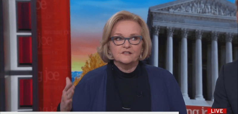 Fmr. Senator Claire McCaskill: Ukraine Whistleblower Is 'Irrelevant' Because of 'Multiple First Person Sources'