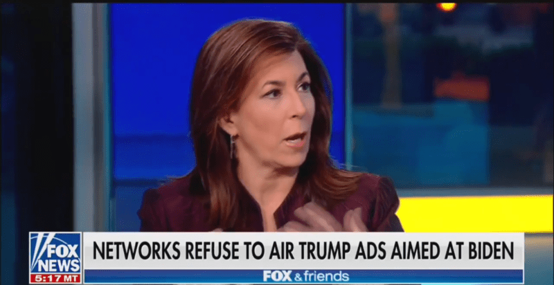 Fox's Tammy Bruce: Networks Refusing to Air Inaccurate Trump Ad Are Like 'State Media' in 'Totalitarian Societies'