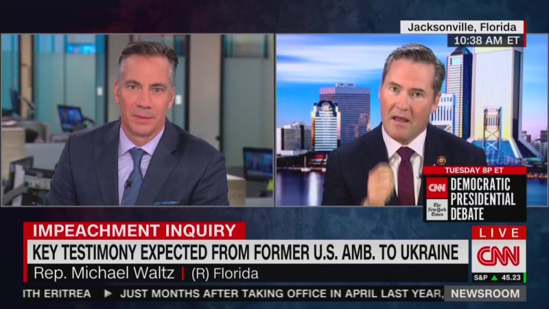GOP Congressman Brings Up Insane 'Crowdstrike Sever' Theory to Justify Trump's Ukraine Call