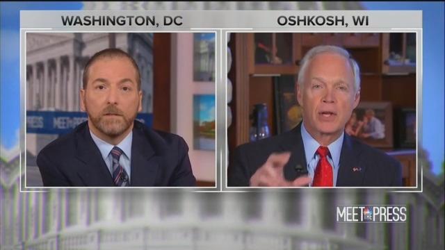 Chuck Todd Fires Back at GOP Sen. Ron Johnson for Spreading 'Fox News Propaganda Stuff'