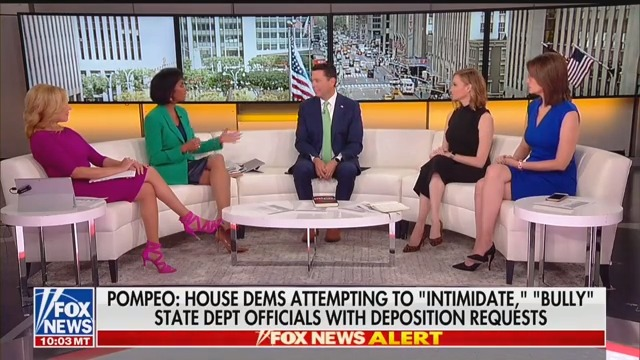 Fox Hosts Push Back on Jason Chaffetz's Claims of Trump Transparency: Why Wasn't Pompeo Upfront About Ukraine Call?