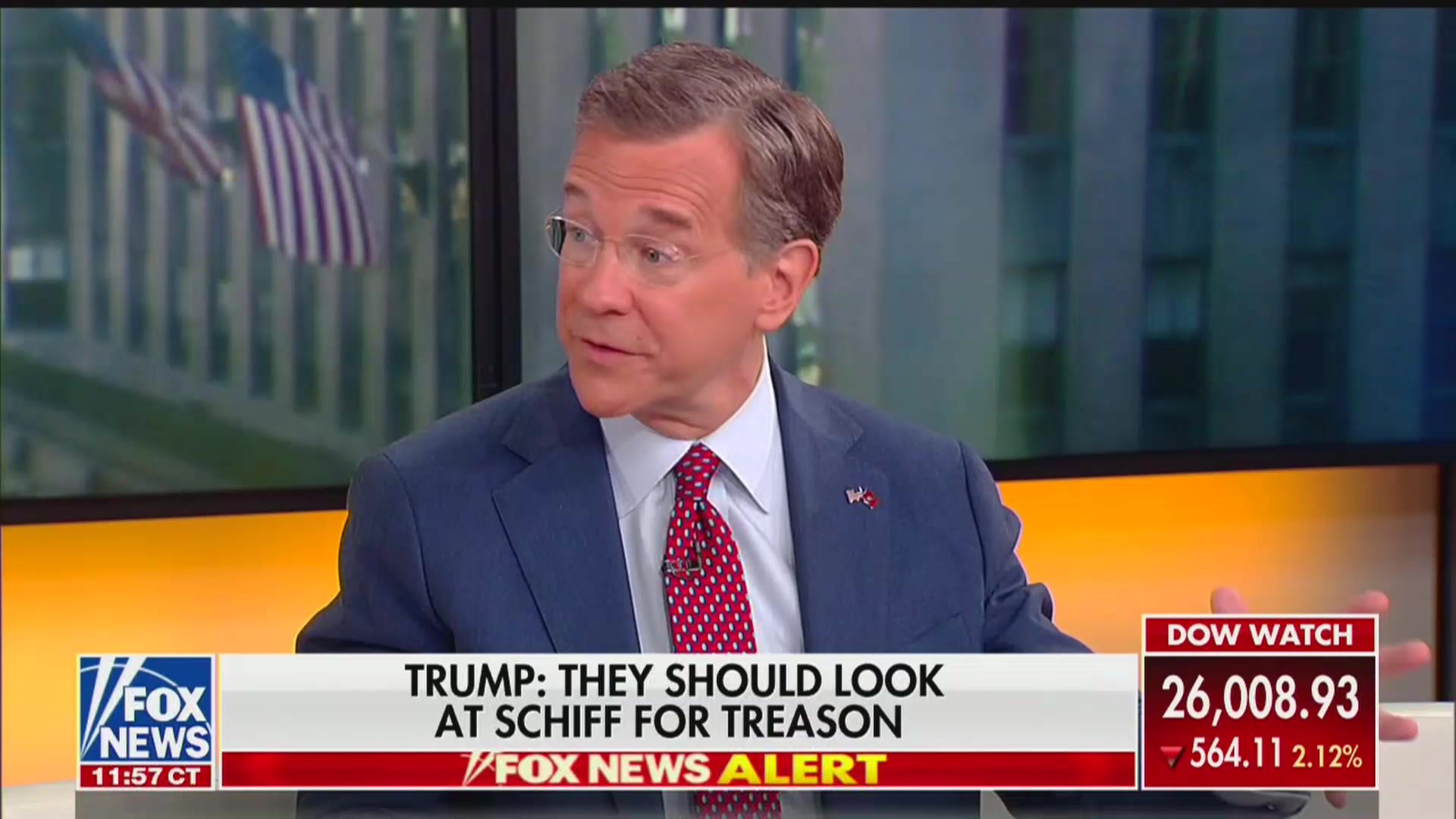 Fox Host Gushes Over Trump for Blaming Wrong Paper Over New York Times' Border Report