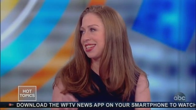 Chelsea Clinton Tells 'The View': 'I'm Not Considering a Run for Congress'
