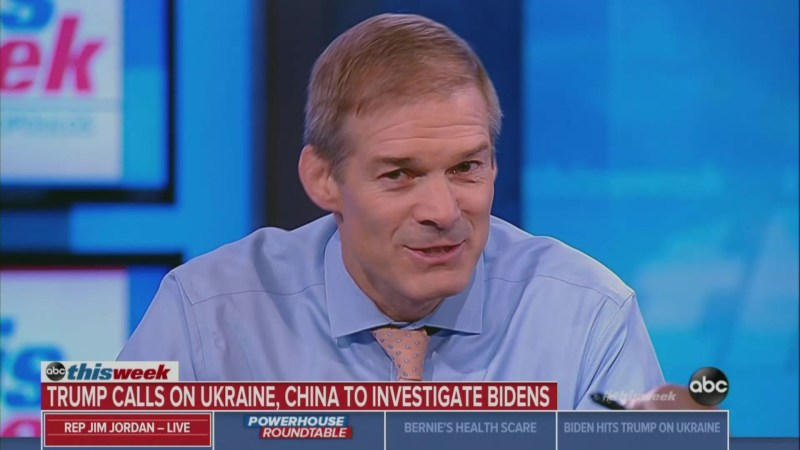 GOP Lawmakers Jim Jordan and Roy Blunt Insist That Trump Wasn't 'Serious' About China-Biden Remarks
