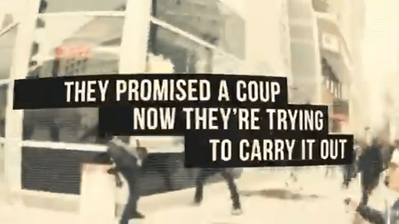 New Trump Ad Claims 'the Democrats Are Trying to Overthrow President Trump'