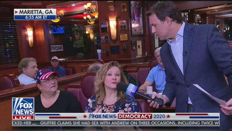 Fox News Diner Patron: Why Aren't We Going Back Impeaching Other Presidents for Withholding Aid?