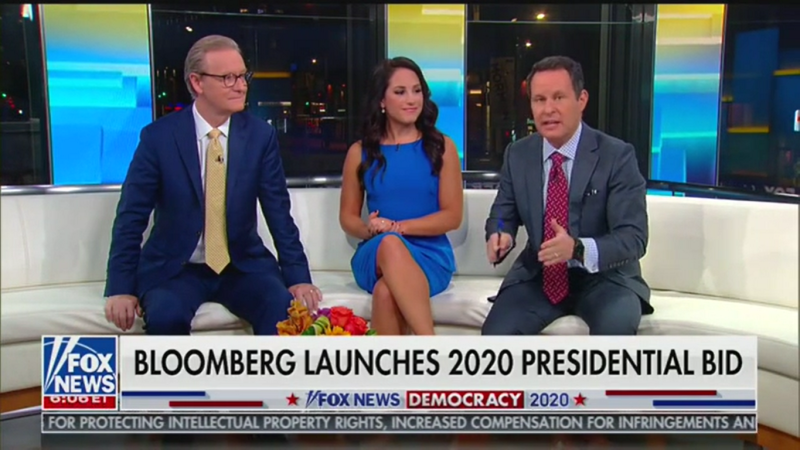 'Fox & Friends': Michael Bloomberg Is 'Literally Trying to Buy the Presidency'