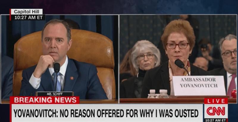 Adam Schiff: Trump Attacking Yovanovitch During Hearing is 'Witness Intimidation'