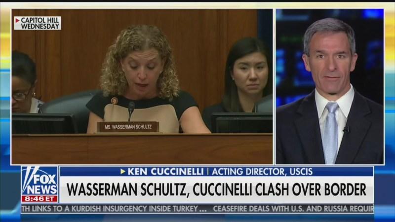 Ken Cuccinelli on Debbie Wasserman Schultz: She 'Got on Her Broom and Left'