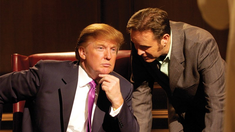 Trump Has Discussed Returning to TV After the White House With 'Apprentice' Creator Mark Burnett
