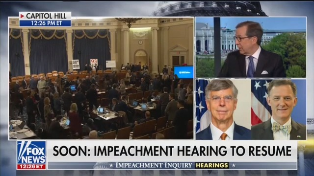Fox News' Chris Wallace: 'Very Impressive' Bill Taylor Was 'Very Damaging' to Trump