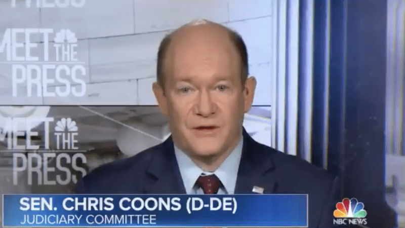 Sen. Coons: 'Gravely Concerned' About What Trump May Do Before 2020 Election If Acquitted