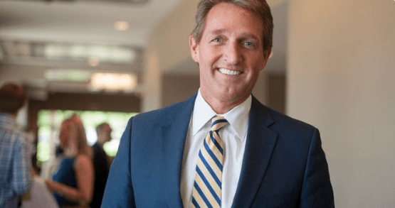 In Open Letter to Former Colleagues, Jeff Flake Says They Too Are on Trial