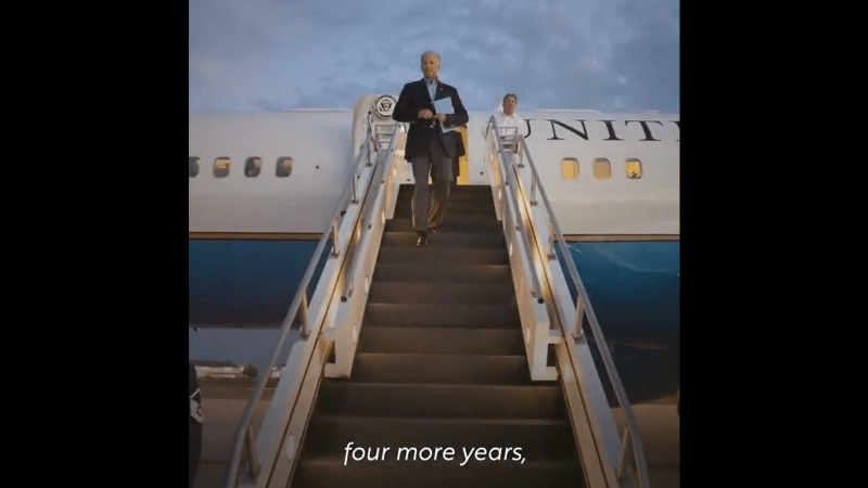 Biden Releases Campaign Ad Showing World Leaders Laughing at Trump