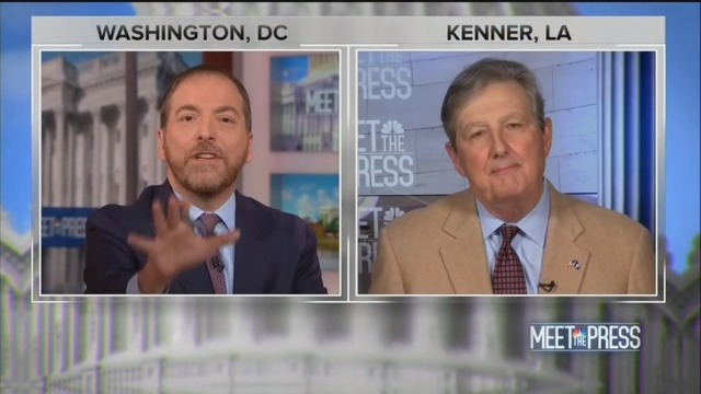 Chuck Todd Gobsmacked When GOP Senator Accuses Ex-Ukrainian Prez of 'Actively' Working for Clinton