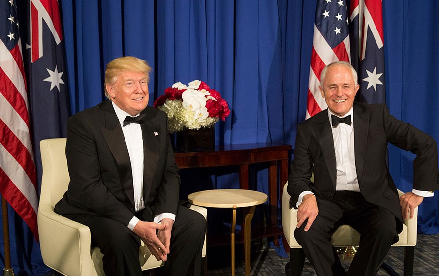 Former Australian Prime Minister: Trump Is 'The Leading Climate Denier in the World'