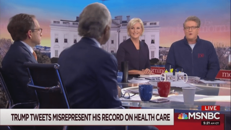 Joe Scarborough Doubts Bernie Sanders Told Elizabeth Warren a Woman Couldn't Win