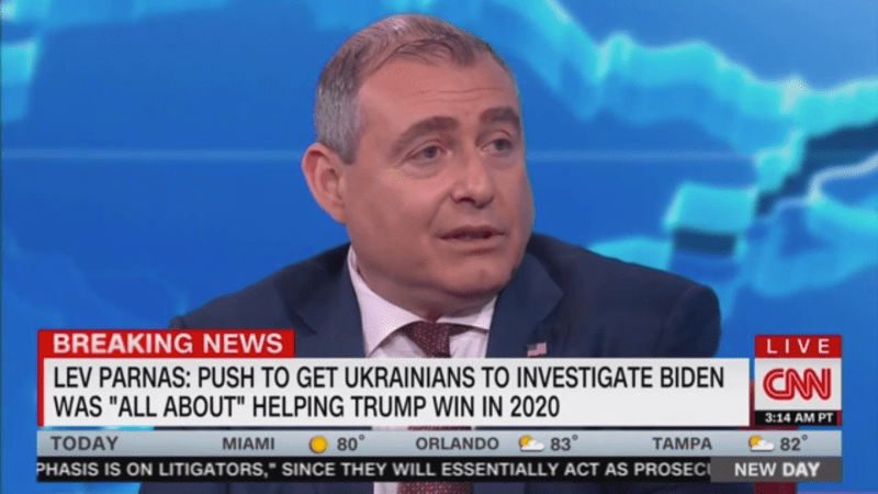 Lev Parnas: 'Of Course' Mike Pence Knew About Ukraine Quid Pro Quo