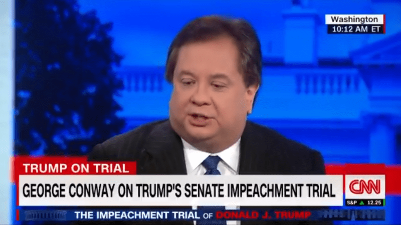 George Conway: Trump's Lawyers Are 'Treating the Senate Like They're Morons'